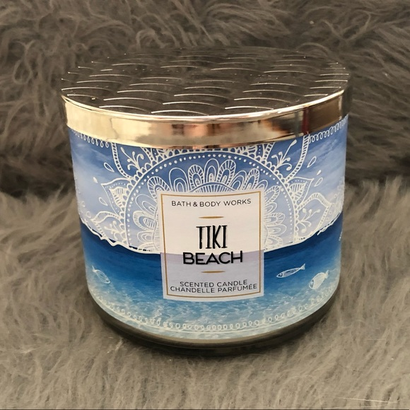 🔥2/$45 Bath & Body Works Tiki Beach 3-Wick Candle